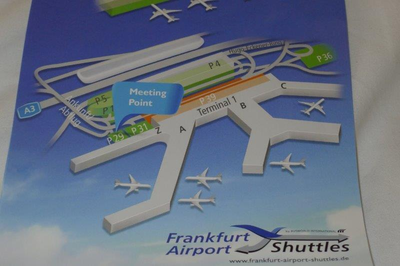 Frankfurt airport map P29