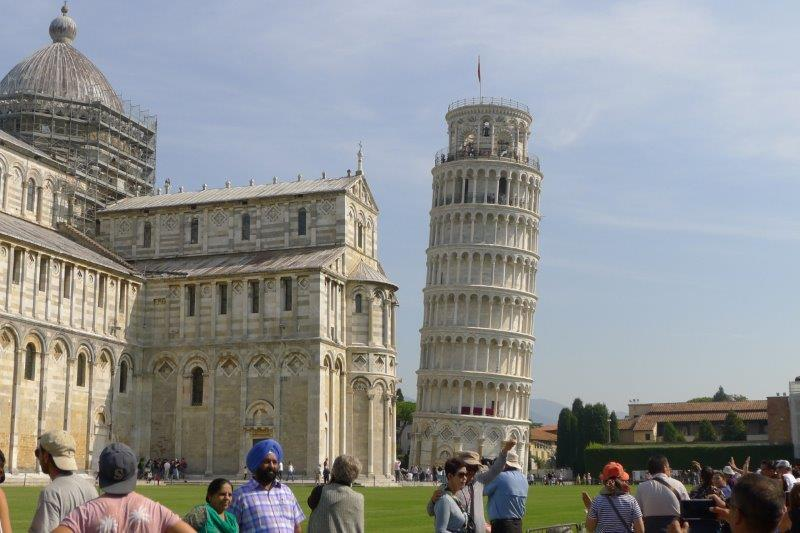 leaning tower and duomo