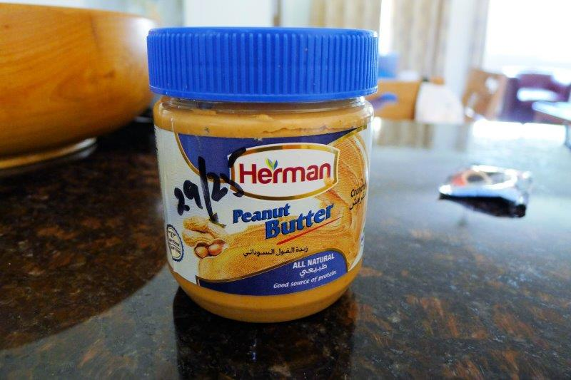 Peanut butter from Dubai