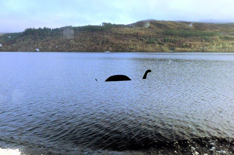 Floating Nessie