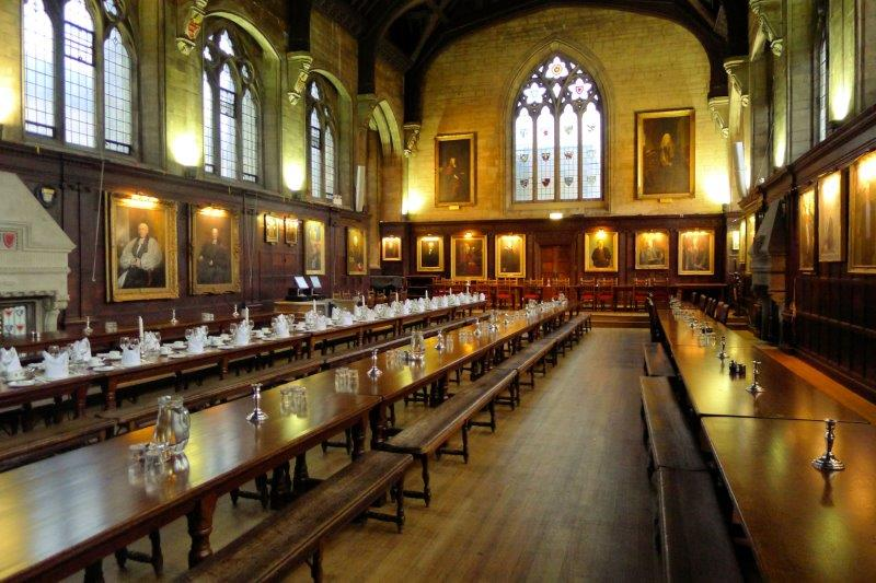 Dining Hall for Harry Potter