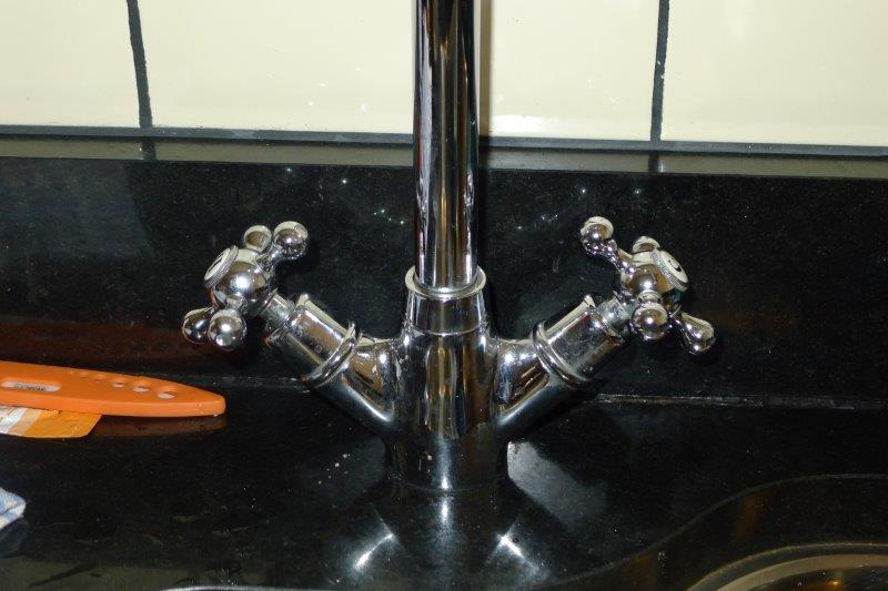 Backwards faucets