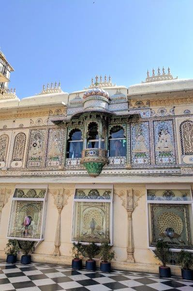 City palace balcony