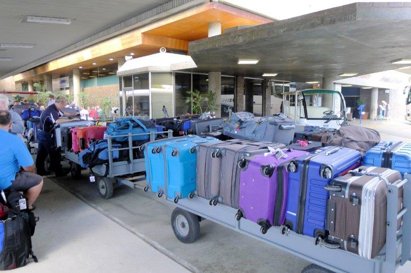 luggage to be stored
