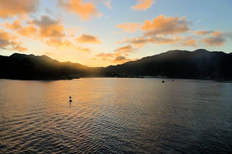 Pago Pago sunset