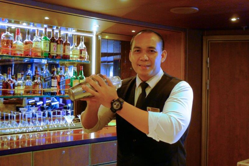 Rommel, the bartender