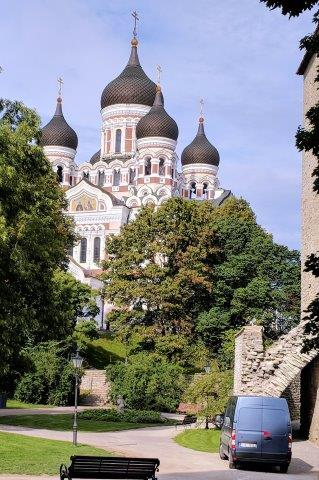 Orthodox church in Tallinn