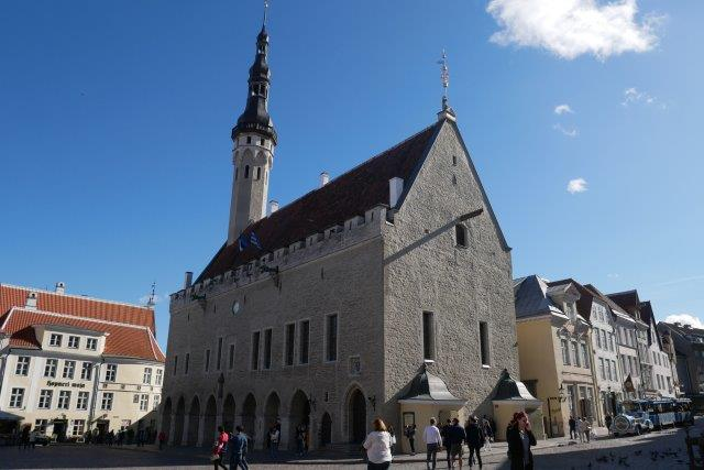 Tallinn Town Hall in city center