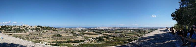 panoramic view of Malta
