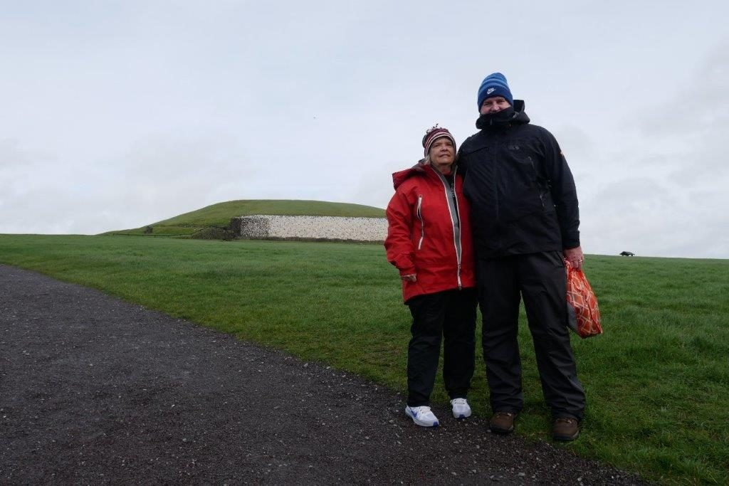 Newgrange burial passages